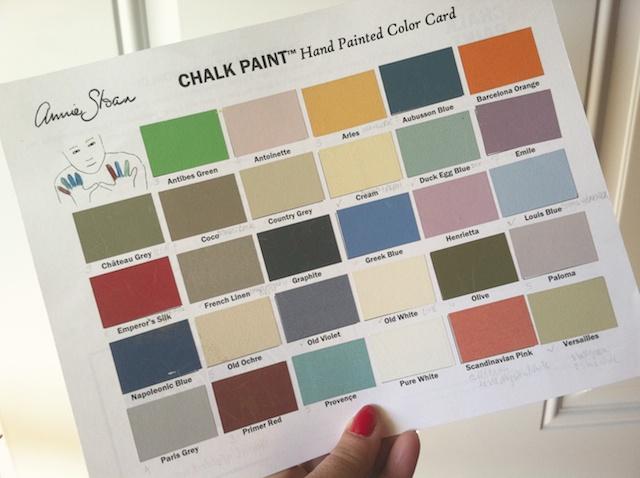Annie Sloan Chalk Paint Colors