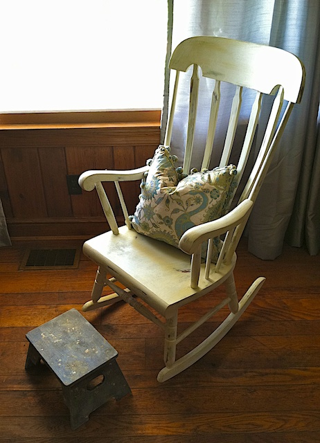 Rocker Redo With Annie Sloan Chalk Paint Reinventing Claire